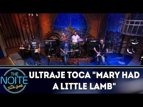 "Ultraje a Rigor toca ""Mary had a little lamb"" 