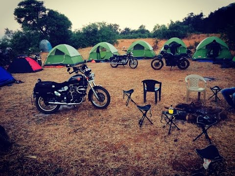 Sole Travellers Rajmachi Camp Offroad Ride with S. P. Wheels