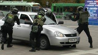 Показательные выступления   ОМОНа прошли в  Минске
