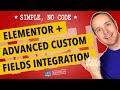 Elementor ACF Integration Makes Custom Pages Easy - Elementor Advanced Custom Fields Tutorial