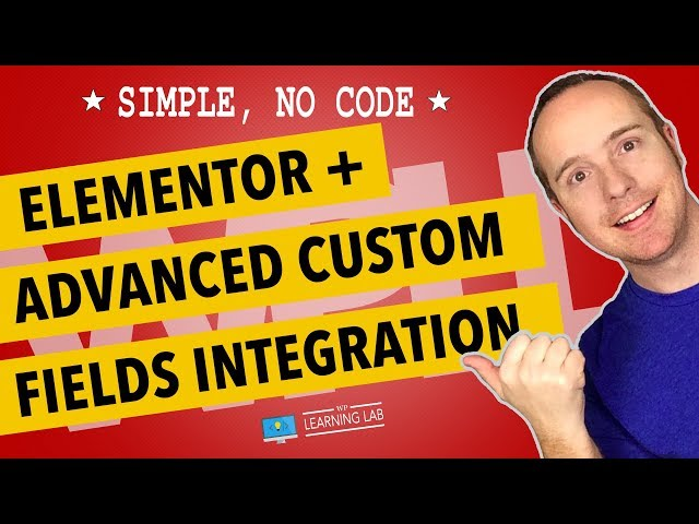 Elementor ACF Integration Makes Custom Pages Easy - Elementor Advanced Custom Fields Tutorial
