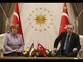 Cumhurbaşkanı Erdoğan ve Angela Merkel soruları cevapladı