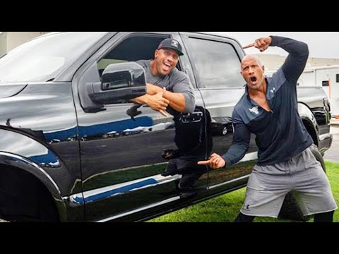 Dwayne 'The Rock' Johnson Surprises Stunt Double With New Truck