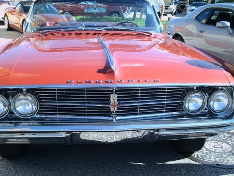1962 Olds Starfire Convertible DkRed NSmyr071412