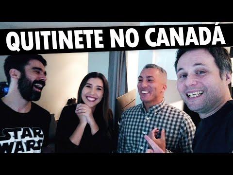 COMO É UMA QUITINETE (KITNET) NO CANADÁ - IMÓVEIS NO CANADÁ #14