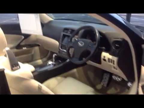 Lexus Nottingham Is Cabriolet - YouTube