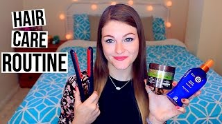 Hair Care Routine + How To Get Long & Healthy Hair