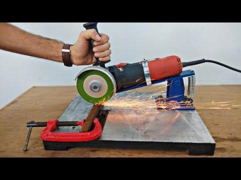 Homemade Angle Grinder Stand Restore Angle Grinder