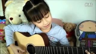 Guitar   Em bé Thái đàn dễ thương
