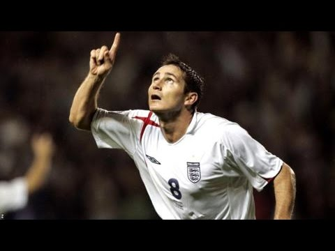 Frank Lampard all England Goals