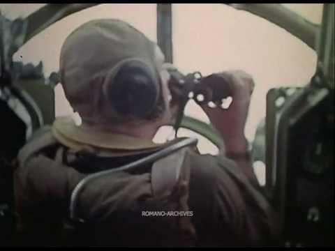 1945 Zeros Attack B-29 Formation over the Fujiama