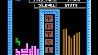 Tetris (tengen) - highscore run ( video 1) - User video