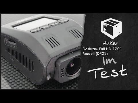 AUKEY DR02 Dashcam 1080P Full HD Stealthcam | Im Test 2017 / UNBOXING DEUTSCH