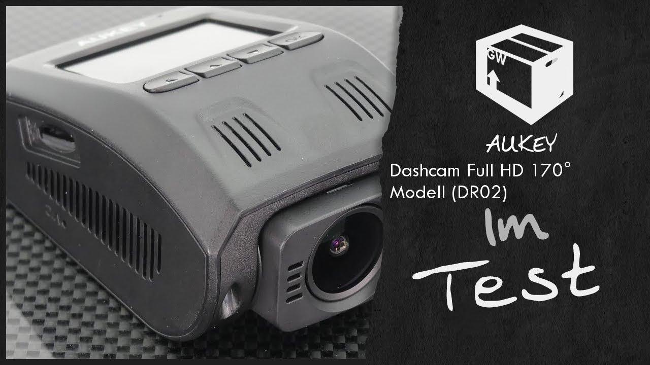 aukey dr02 dashcam 1080p full hd stealthcam im test 2017. Black Bedroom Furniture Sets. Home Design Ideas