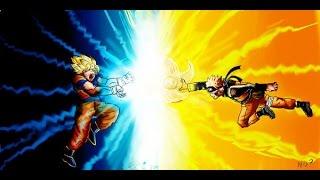 DRAGON BALL VS NARUTO
