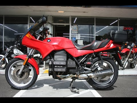 1991 BMW K75s ... Clean Flying Brick in the Bay Area