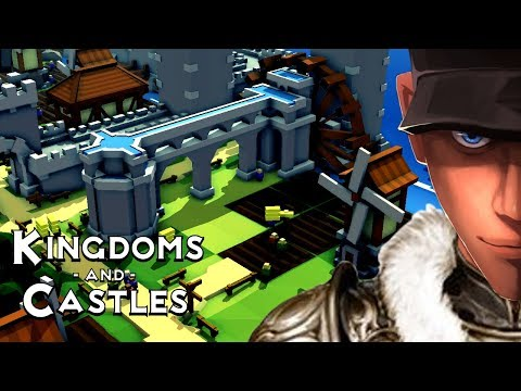 Kingdoms and Castles NEW Aqueduct and Moira update! | Let's Play Kingdoms and Castles Gameplay
