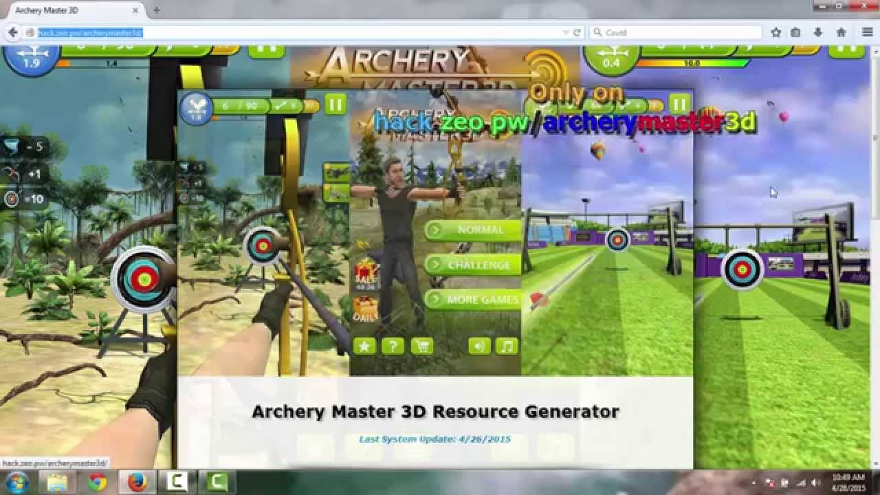 Watch This Hack for Archery Master 3D - Proof for Archery Master 3D Cheats  - YouTube