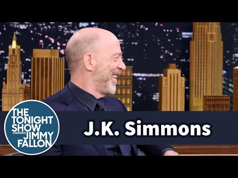 J.K. Simmons Head-Butted Lupita Nyong'o Accepting His Oscar