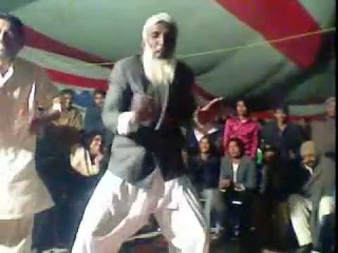 a amazing dance by old man in bakher