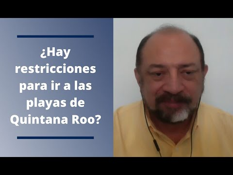 ¿Hay restricciones para visitar las playas de Quintana Roo?