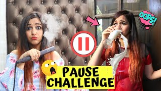 PAUSE Challenge *The Ultimate PRANK War*