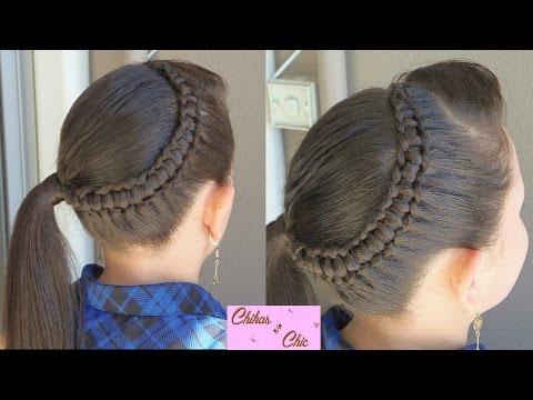 line-braid-wrapping-around!!---line-braid-into-a-side-ponytail!!- -chikas-chic