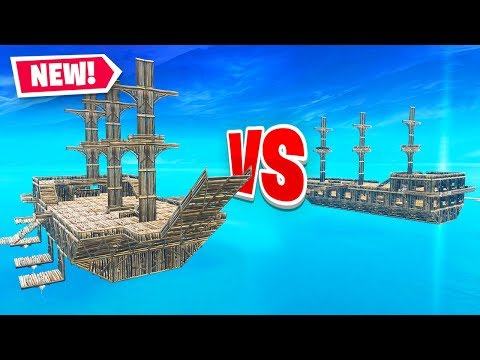 SKY SHIP WARS in Fortnite Battle Royale (Custom Playground Mode)