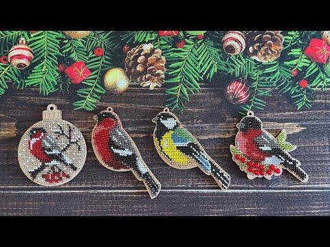 Птицы вышивка бисером