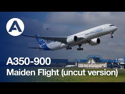 A350 XWB First Flight - uncut version