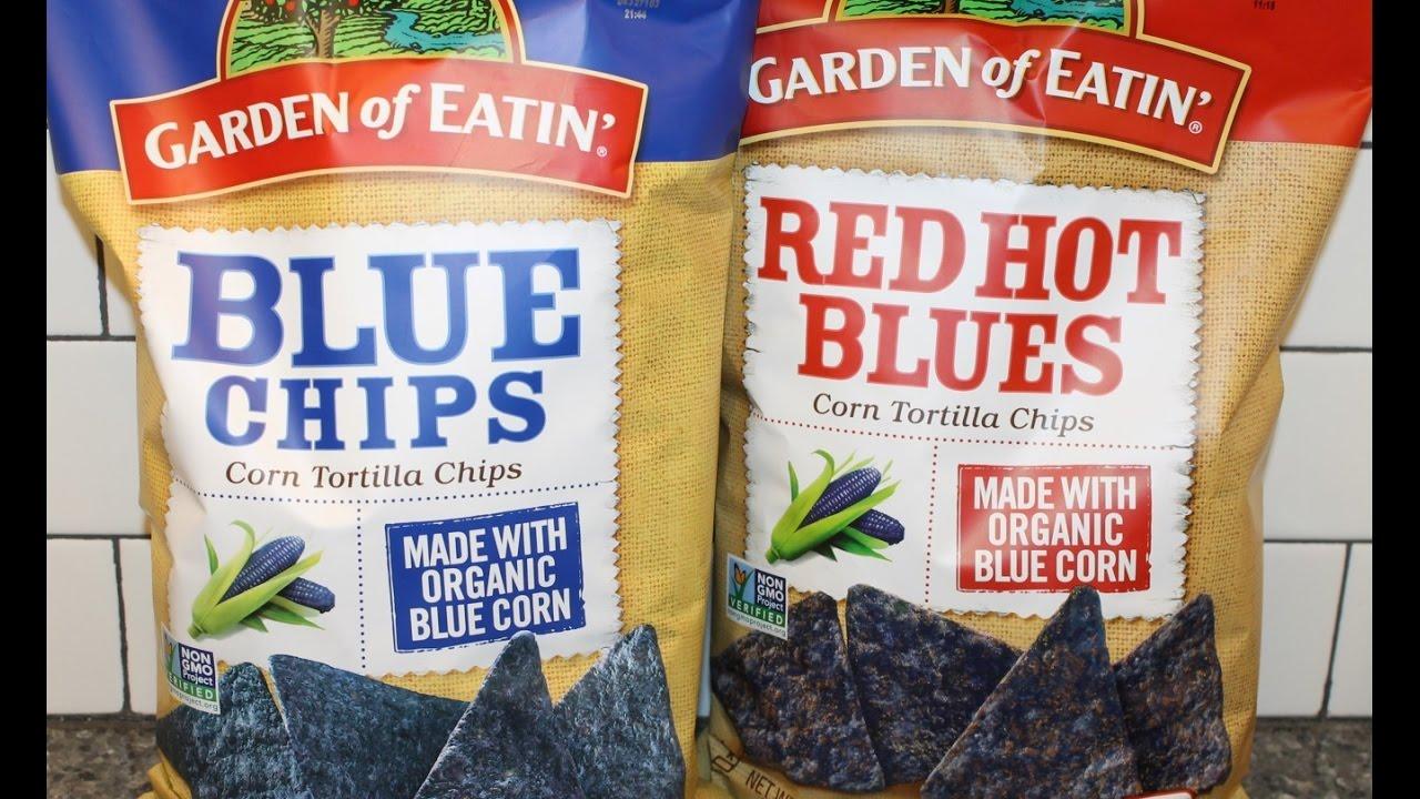 Garden of Eatin Corn Tortilla Chips Blue Chips Red Hot Blues