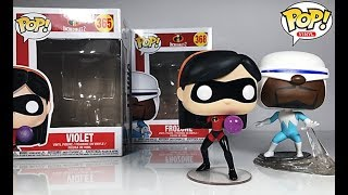 Funko POP Incredibles 2 Violet & Frozone Disney Figure Review