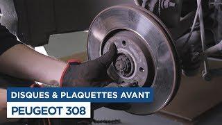 Changer les Disques et Plaquettes avant sur Peugeot 308
