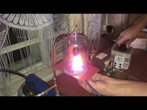 Плазма в разреженной атмосфере с магнетроном Продолжение