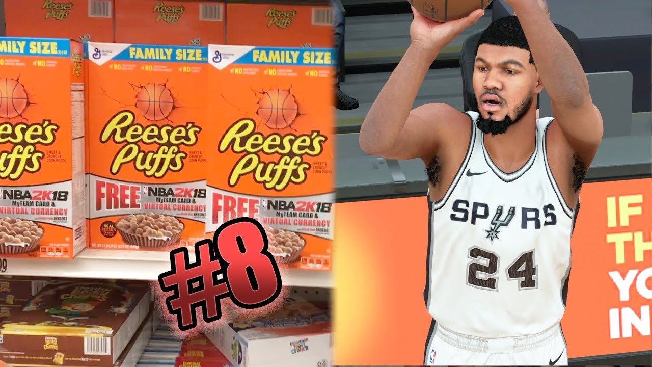 e89d26c0c NBA 2k18 MyCAREER - Reese Puffs Upgrade! Does This Crossover Count  Ep. 8
