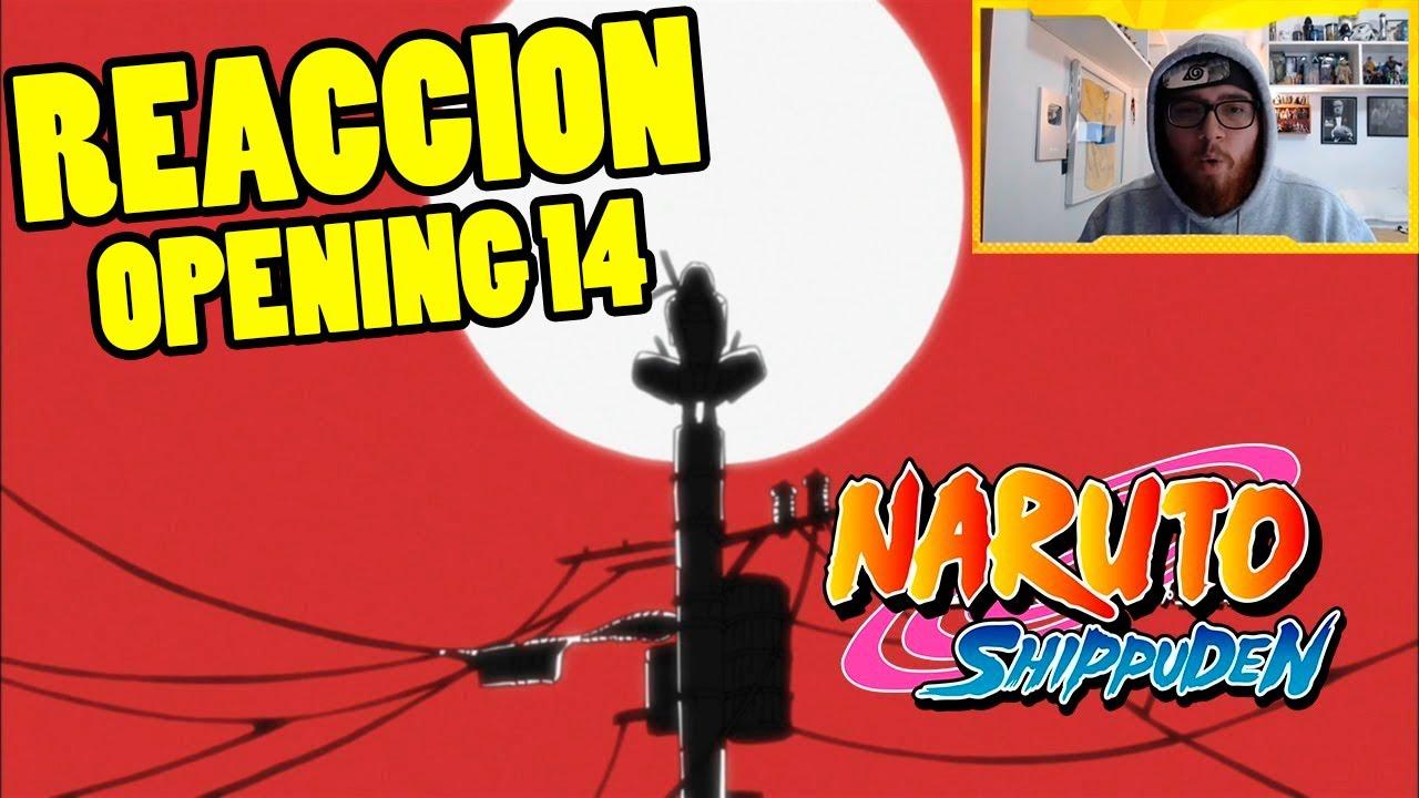 😨 NARUTO SHIPPUDEN OPENING 14 | REACCION | Tsuki no Ookisa ...