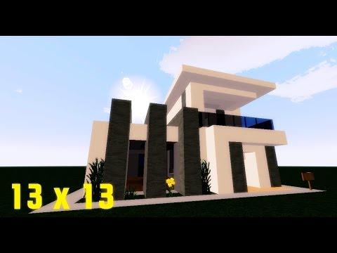 Minecraft Lüks Ev Yapımı - 13x13