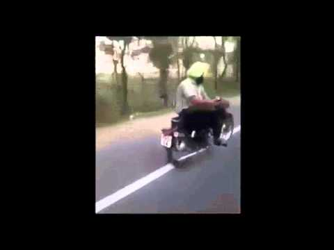 motorcycle-ride-on-his-side