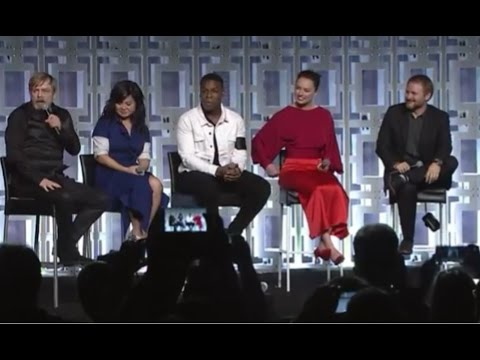 Thumbnail: Star Wars The Last Jedi Panel FULL - Star Wars Celebration 2017 Orlando