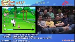 SGDQ 2014 Bonus Stream - Game 10 - Ribbit King