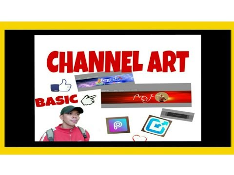 HOW TO MAKE CHANNEL ART! (TUTORIAL 2) thumbnail
