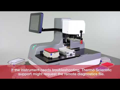 Using the Thermo Scientific Decapper 500 Remote Diagnostics Capabilities for Troubleshooting
