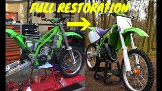 25 YEAR OLD MX BIKE BROUGHT BACK TO LIFE | KX125 RESTORATION