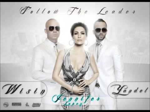 Wisin Y Yandel ft JLO   Follow The Leader   Karaoke