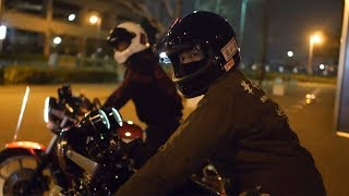 Nostalgicbike.com (Japanese Young Cafe Racers)   |   Z、CBたちの夜中の走行ドキュメンタリー映像