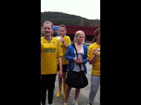Fotball sangen til Kragerø jenter 97!
