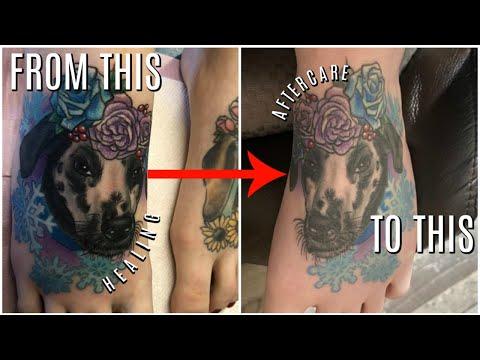 Healing My Foot Tattoo | A Tattoo Journey