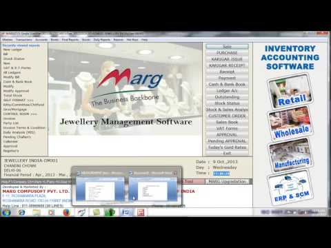 Jewellery All in One Marg Software