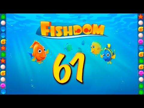 Fishdom: Deep Dive level 61 Walkthrough