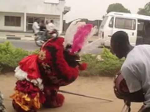 CALABAR EKPE FESTIVAL 2  NIGERIA 1500s FIRST RAP SONG BY CHIEF KOOFFREH